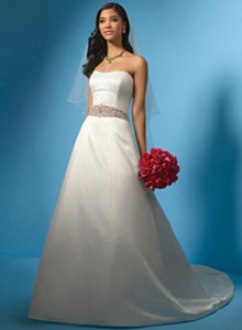 Alfred Angelo2024 Sz:6 Ivory/Black Original Price: $1099Our Price: $329.00