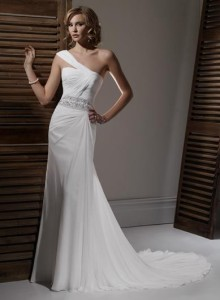 Maggie SotteroPerri Sz: 8 Ivory Original Price: $1209Our Price: $519.00