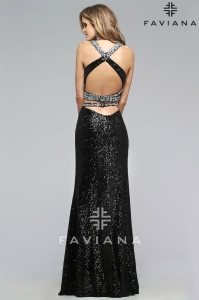 Faviana 7787, prom dresses fort collins, prom dresses loveland